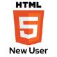 HTML: New User