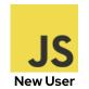 Javascript: New User